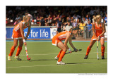 concentration at the Dutch penalty corner (Netherlands-Azerbaijan)