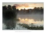 Early autumn sunrise