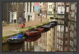 Hazy Amsterdam