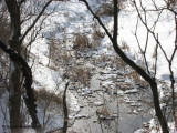 Ravine in winter