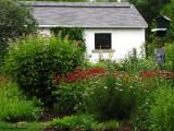 The Interpretive Centre and Backyard Garden, July 2009