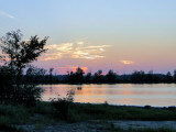Sunset over Shirley's Bay