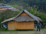 Me and the cabin in the karen village