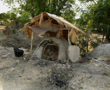 Charcoal oven,  different type