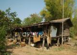 Old Thai house north-east near Laos