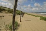 Prikkeldraad Nederlandse kust