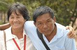 Isaan couple with roots  in Laos