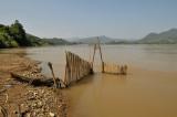 River Namkong Mekong, fish trap