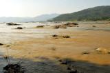 River  Mekong Namkong view at Laos