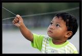 Kite-flying in Bangkok
