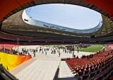 Olympic Stadium and Cube aquatic centre Beijing - Apr 2009
