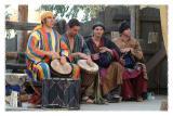 Domba & Jamila Lotus Drummers Together