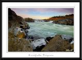 Sunset near Great Falls, Virginia