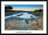 Great Falls At Dusk, Maryland Side.