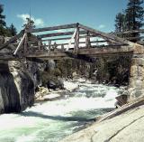 Footbridge above Yosemite Falls, 1967
