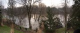 Thames River from the kitchen deck