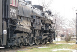 Locomotive at historical museum, Ottumwa IA
