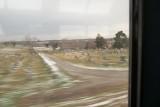 Zipping past a graveyard