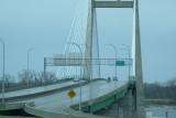 Scenic suspension bridge to Illinois