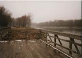 Fishing pier at Cottonwood Park
