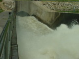 Big water at Saylorville spillway