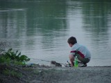 Young fisherperson, Hartford access