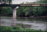 E26 bridge with warning
