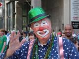 St. Patrick's Day parade in DSM Iowa