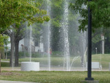 Evelyn Davis Park fountains.JPG
