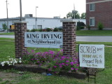 King Irving Neighborhood sign.JPG
