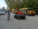 Busses and tanks