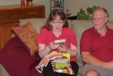 Margaret Jane is amazed