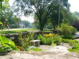 Garden at Bentonsport
