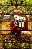 Stained Glass, State Library