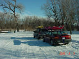 Car Buddies and a Snowy River-Prospect Access-Des Moines