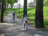 Young Biker at Gray's Lake
