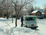 Mail in the Snow-Beaverdale