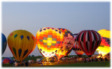 Nite glow at the balloon classic