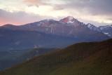 Long's Peak- Early Morning Glow