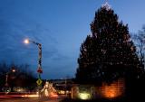 Virginia Tech Christmas Tree-A Blacksburg Tradition