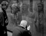 Looking Back And Remembering At The Wall-Washington DC