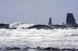 Sea Stacks And Waves At LaPush