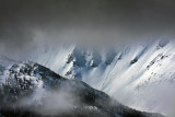 High Mountain Storm