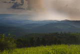 Approaching Thunderstorm: Giles County