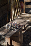 Old Time Checkers-Mabry Mill National Park Display