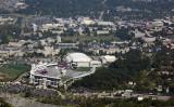 Aerial Image Of Virginia Tech's Campus