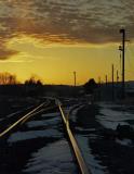 Sunset At Whitethorn