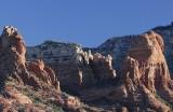 Morning Light On Rock Formations