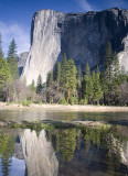Reflection of El Capitan