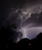 Lightning at our house